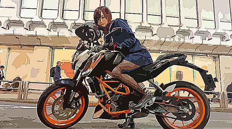 夜道雪 バイク 車種 事務所 声優 コスプレ 太もも